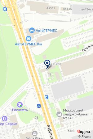 ГРУППА КОМПАНИЙ В-К на карте Новой
