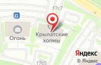 Схема проезда до компании Фармстандарт-Медицина в Москве