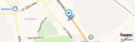 Ауди Центр Infiniti на карте Химок