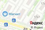 Схема проезда до компании Татьянин Парк в Москве