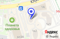 Схема проезда до компании САЛОН ШТОР в Юбилейном