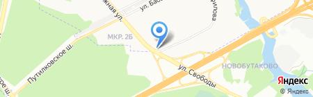 Интим на карте Химок