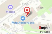Схема проезда до компании Вудларк в Москве