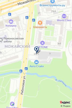 АВТОМОБИЛЬНАЯ КОМПАНИЯ АВТОЭКСПРЕСС на карте Новой