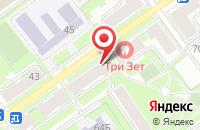 Схема проезда до компании Московский Кредитный Банк в Серпухове
