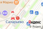 Схема проезда до компании Банкомат, ВТБ Банк Москвы,  Банк ВТБ в Саларьево