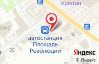 Схема проезда до компании Dimon в Серпухове
