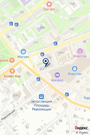 СЕРПУХОВСКАЯ ТИПОГРАФИЯ на карте Серпухова