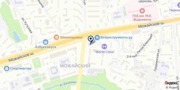 ПЭМ на карте Москве