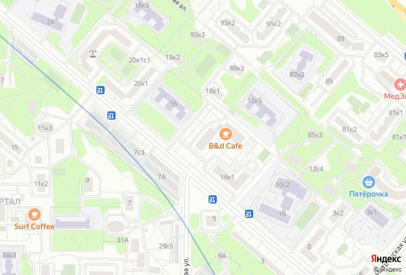 купить квартиру в ЖК Ельнинская 14Б
