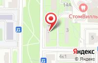 Схема проезда до компании Мультиарт в Москве