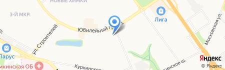 МОСОБЛБАНК на карте Химок