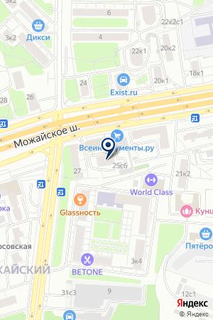 АВТОСЕРВИСНОЕ ПРЕДПРИЯТИЕ ЛЕНД-РОВЕР-ЦЕНТР на карте Можайска