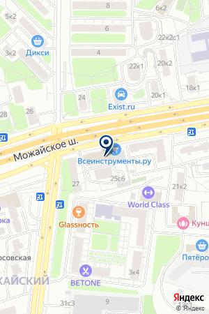 АВТОМАГАЗИН КОНСУЛ-СВ на карте Можайска