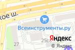 Схема проезда до компании Палантин в Москве
