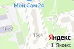 Схема проезда до компании Бэби-клуб в Москве