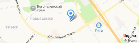 Химкинские автомобилисты на карте Химок