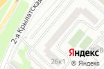 Схема проезда до компании Адвокатская контора №119 в Москве