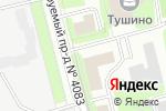 Схема проезда до компании Берег в Москве