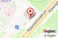 Схема проезда до компании Аф Холдинг в Москве
