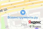 Схема проезда до компании BURNOUT в Москве
