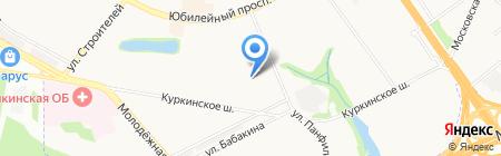 Детский сад №51 Зоренька на карте Химок