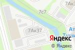 Схема проезда до компании Мирсана в Москве