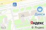 Схема проезда до компании Русское Лото Победа в Москве