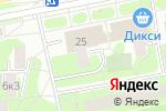 Схема проезда до компании Балтия в Москве