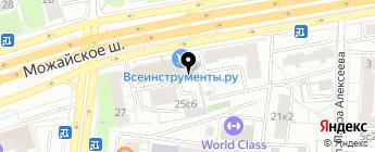 СТ Автоимидж на карте Москвы