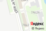 Схема проезда до компании ФинФренд в Москве