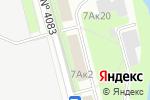 Схема проезда до компании SvetoLuxe в Москве