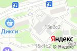 Схема проезда до компании Мультисервис в Москве