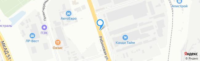 Рябиновая улица