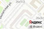 Схема проезда до компании ПолимерРесурс в Москве