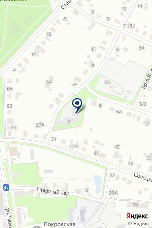 СЕРПУХОВСКИЙ МЕЖШКОЛЬНЫЙ УЧЕБНО-ПРОИЗВОДСТВЕННЫЙ КОМБИНАТ на карте Серпухова