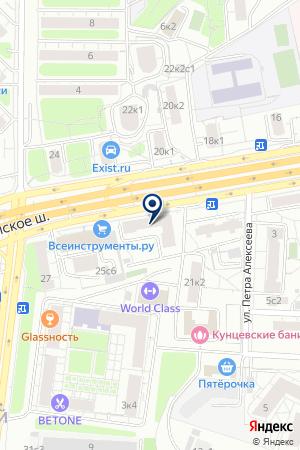 МЕБЕЛЬНЫЙ МАГАЗИН ВАСК на карте Можайска