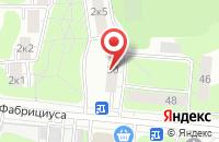 Схема проезда до компании Фонтан в Москве