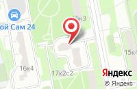 Схема проезда до компании ПМАМ Энтертейнмент в Москве