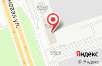 Схема проезда до компании Земун в Москве