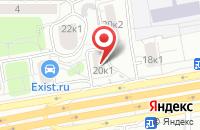 Схема проезда до компании Дальние Усадьбы в Москве