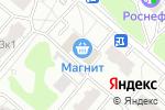 Схема проезда до компании Магазин бытовой химии и косметики в Москве