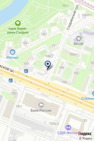 СТОМАТОЛОГИЧЕСКИЙ ЦЕНТР ГАРАНТ-ДЕНТ на карте Волоколамска
