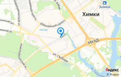 Местоположение на карте пункта техосмотра по адресу Московская обл, г Химки, ул Панфилова, стр 4А