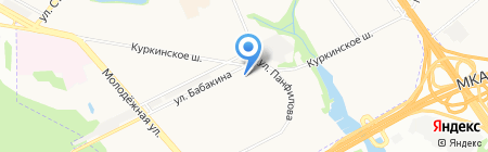 Лекарь-1 на карте Химок