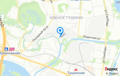 Местоположение на карте пункта техосмотра по адресу г Москва, проезд Строительный, д 7А
