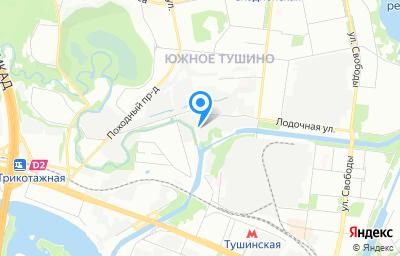 Местоположение на карте пункта техосмотра по адресу г Москва, проезд Строительный, д 7А к 11