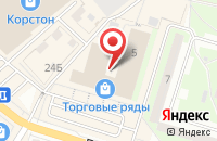 Схема проезда до компании АКБ Авангард в Серпухове