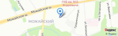 SenseHome на карте Москвы
