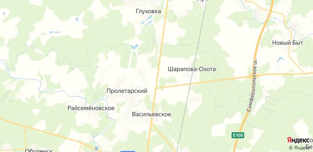 Новые Кузьменки на карте
